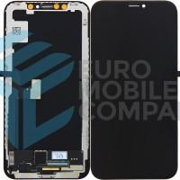 iPhone X Display + Digitizer High Quality Hard OLED - Black